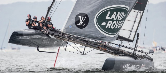 America's Cup Challenge - Sir Ben Ainslie