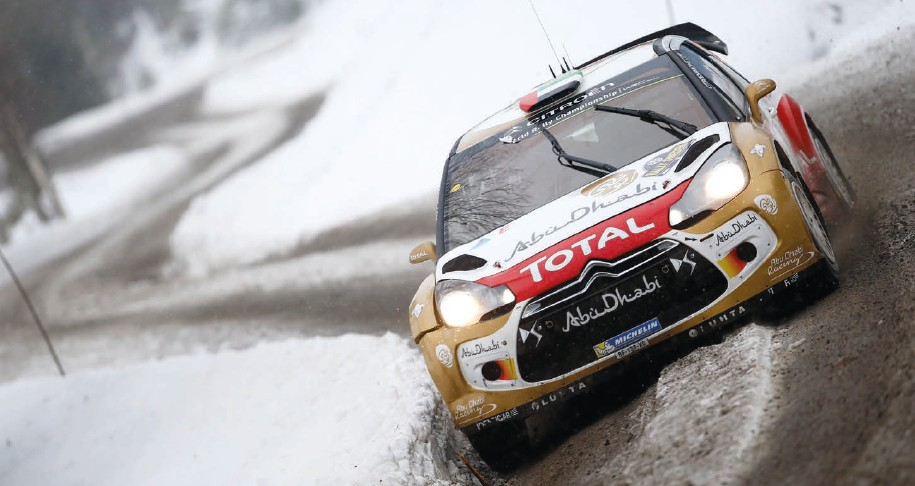 Thrill Ride - World Rally Championship..