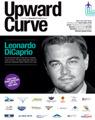 IN FLIGHT PRIVATE JET MAGAZINE - UPWARD CURVE