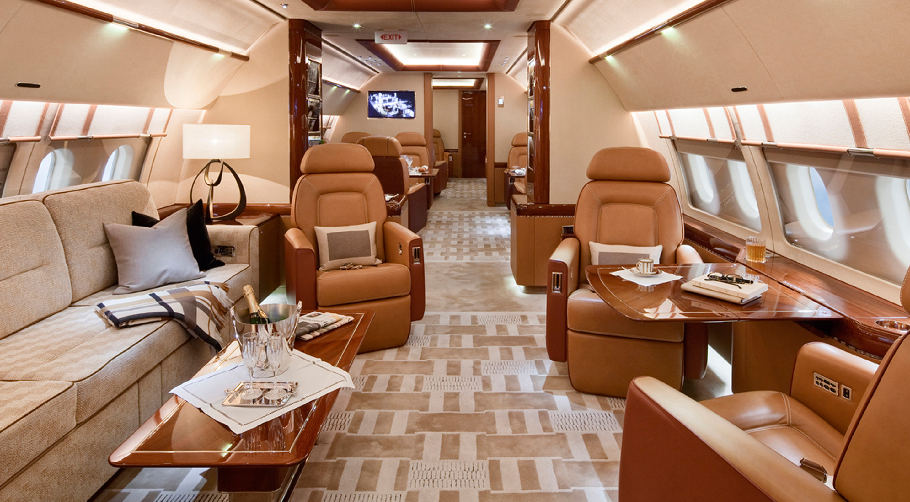 Higher Plane - Business Jet Interiors