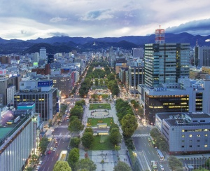 Into the Hills - Business in Sapporo