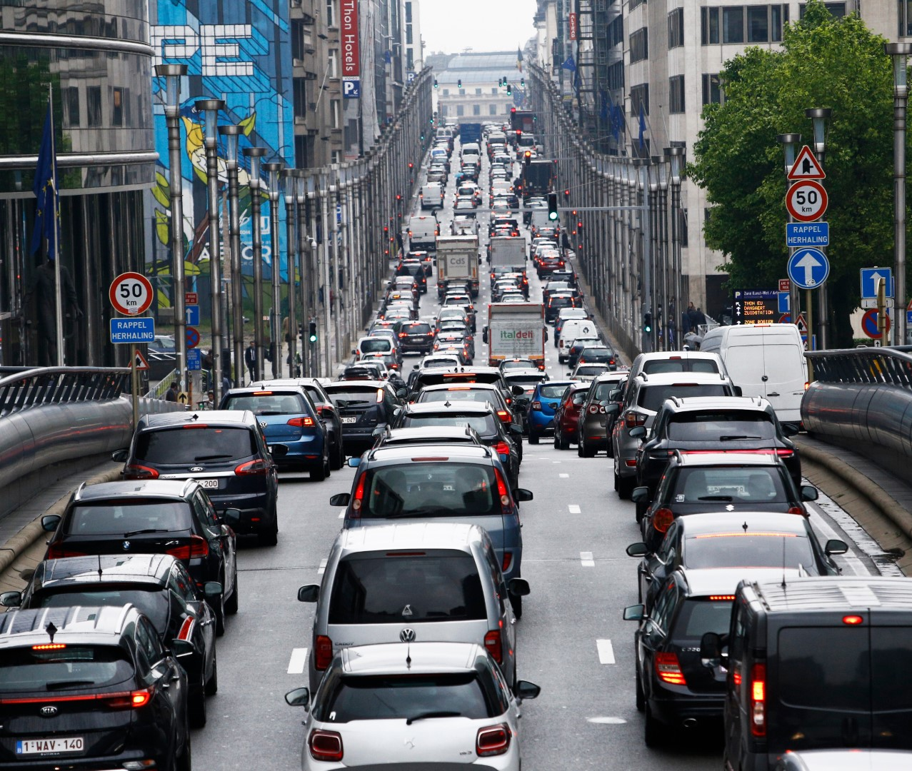 Business Travel - City of Brussels